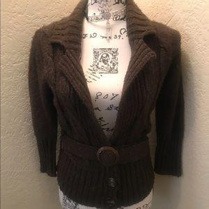 Kersh Soft Tweed Sweater Size Large